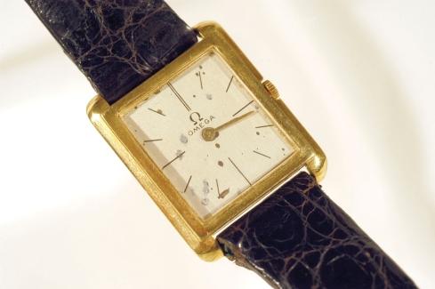 JFK's Omega Wristwatch - Front