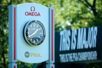 OMEGA_Clock_at_Whistling_Straits_-_This_is_Major