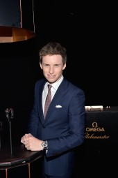LOS ANGELES, CA - MARCH 01: Actor Eddie Redmayne attends the launch of the Globemaster, the worlds first master chronometer, hosted by OMEGA and brand ambassador Eddie Redmayne at Mack Sennett Studios on March 1, 2016 in Los Angeles, California. (Photo by Stefanie Keenan/Getty Images for OMEGA)