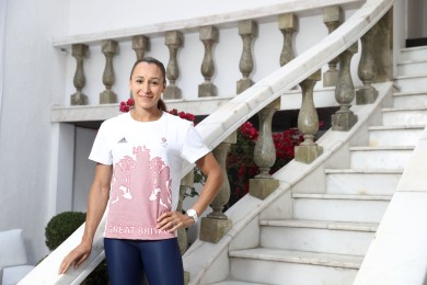 RIO DE JANEIRO, BRAZIL - AUGUST 14: OMEGA Ambassador Jessica Ennis-Hill pictured at OMEGA House Rio 2016 on August 14, 2016 in Rio de Janeiro, Brazil. (Photo by Mike Marsland/Mike Marsland/WireImage) *** Local Caption *** Jessica Ennis-Hill